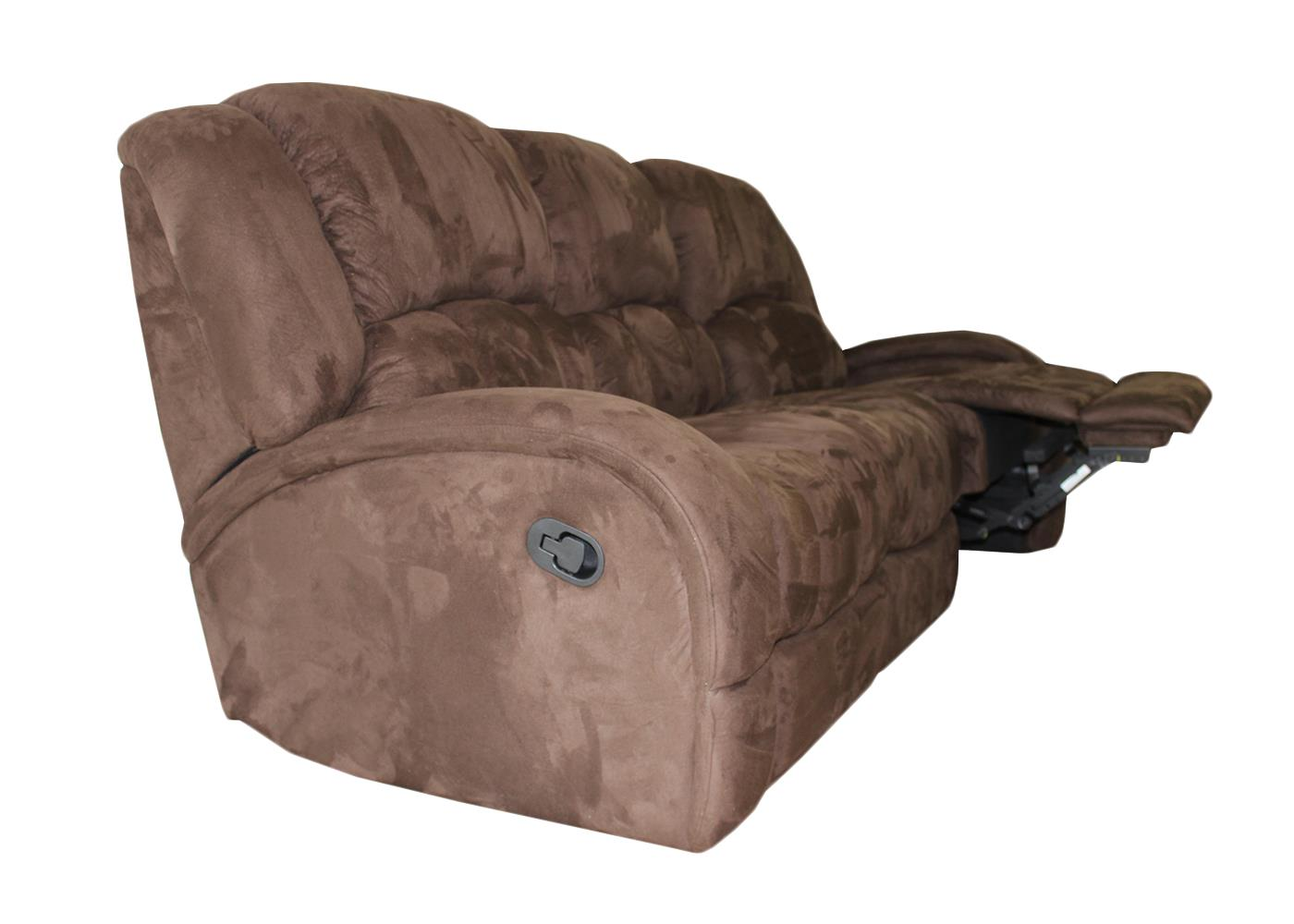 Statesman 3 Piece Fabric Recliner Lounge Suite
